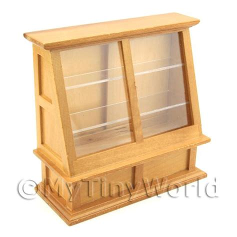 dolls house display cabinet dolls house miniature furniture value dolls house miniature angled display cabinet