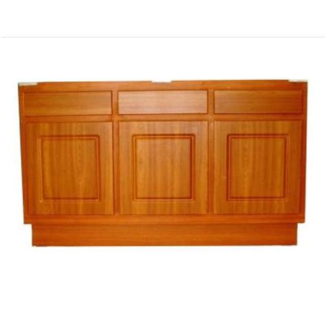 metalarte 60 in laminate cherry base kitchen cabinet