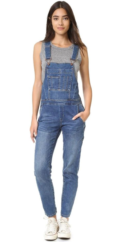 Fox Denim Overall Romper denim jumpsuit womens clothing with excellent inspiration