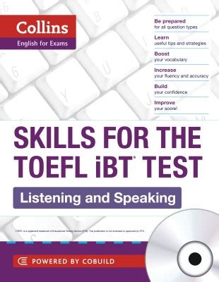 speaking and writing strategies for the toefl ibt books past 5 years toefl questions with answers