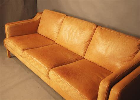 leather sofa tan sold danish tan leather sofa 28d049 danish vintage modern