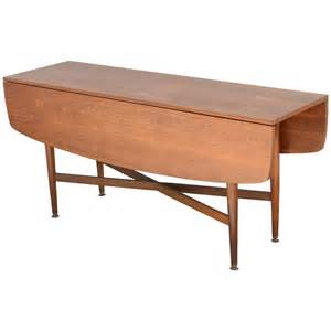 Drop Leaf Console Table Teak Drop Leaf Dining Or Console Table 1960s At 1stdibs