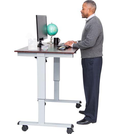 standing desk electric electric standing desk in desks and hutches