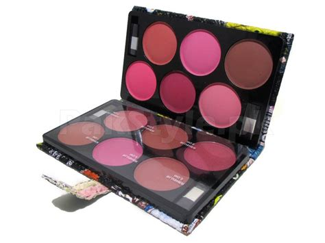 Just Miss Eyeshadow Blusher Es 215 Eye Shadow Blush On 12 blusher colors palette price in pakistan m005218