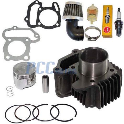 Spare Part Piston Set Motor Mini Trail Gp Dan Atv Suku Cadang Murah yamaha moto 4 yfm 80 cylinder piston kit set rings gaskets