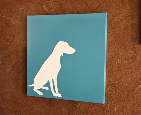dog house paint ideas diy dog silhouette art