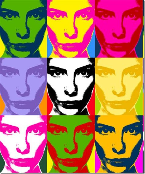 tutorial photoshop warhol pinterest the world s catalog of ideas