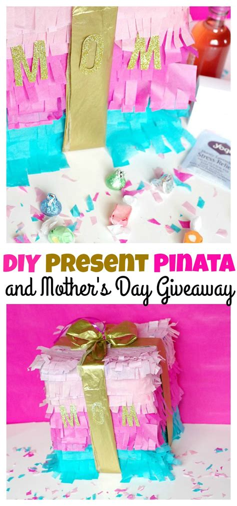 Day Giveaway - diy present pinata and mother s day giveaway val event gal