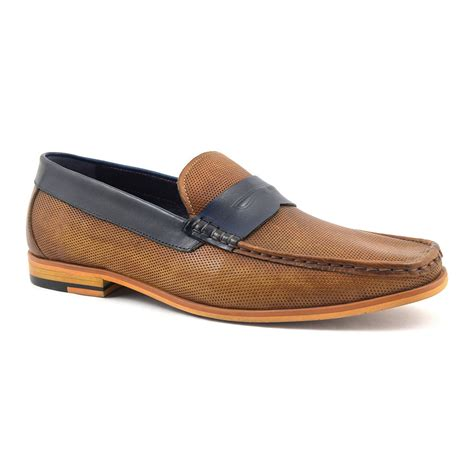 navy loafer buy mens navy loafer gucinari design