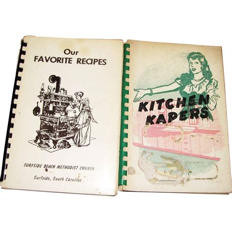 Kitchen Kapers Reading 1950 S Quot Kitchen Kapers Quot 1960 S Quot Our Favorite Recipes