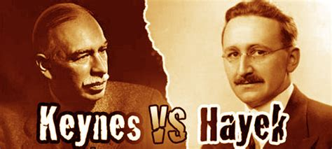 the fight continues the differences between keynes and hayek