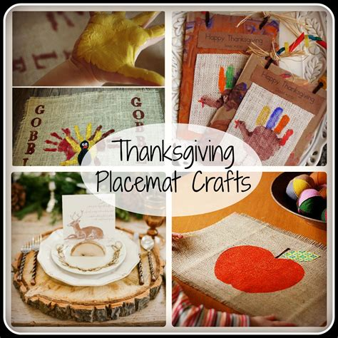 thanksgiving placemat crafts tgif  grandma  fun