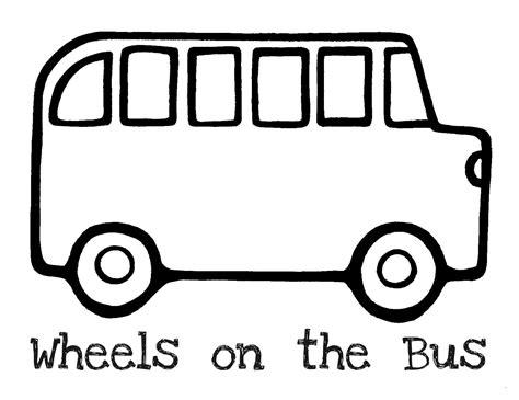 bus coloring pages 4