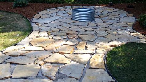 patio installation near me how to install pavers sunset regarding flagstone patio diy