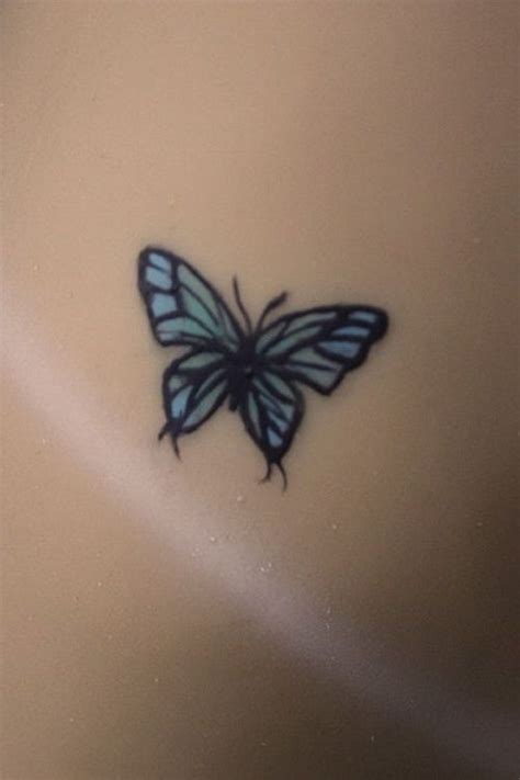 small blue butterfly tattoo 25 best small butterfly ideas on tiny