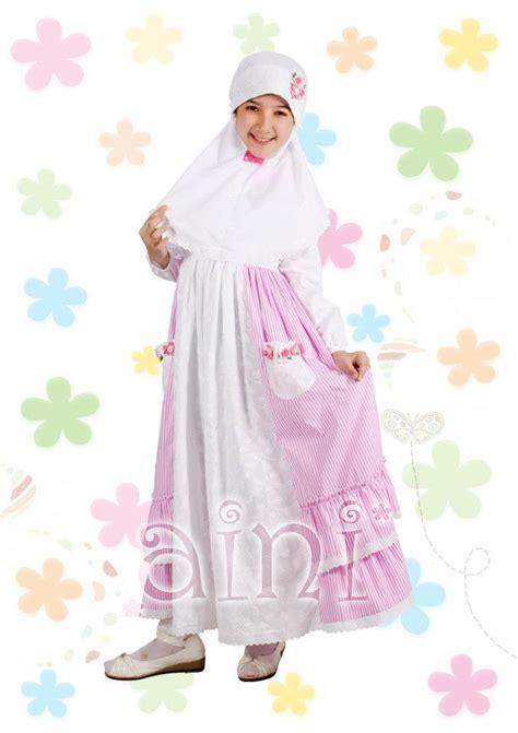 Aina By Syalmadina baju gamis anak aini an 130205