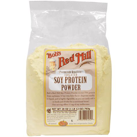 h b protein powder bob s mill soy protein powder 28 oz 793 g iherb