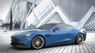 Blue Aston Martin Aston Martin Vanquish Blue Wallpaper