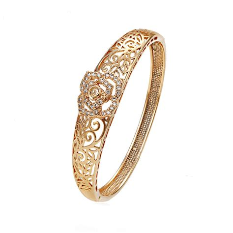 Gelang Tangan Perhiasan Xuping by Xuping Sj1212 Gelang 18k Gold Plated Elevenia