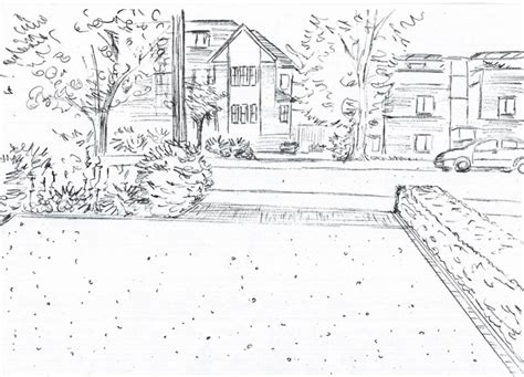 drawing of garden from the drawing board the finished drawings for a garden