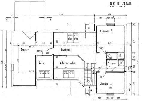 plan dinterieur de maison