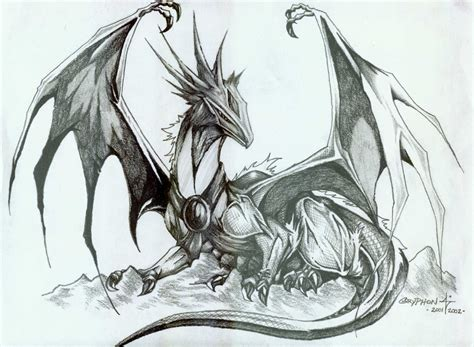 The Best Drawings Of Dragons | best dragon ever by superroboticgriffon on deviantart