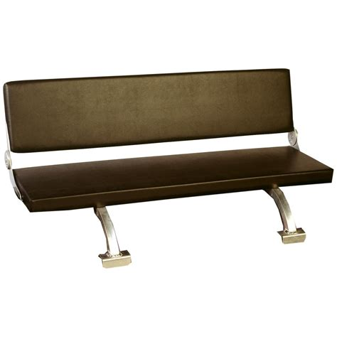 otter 174 sled bench seat 131836 ice fishing shelters
