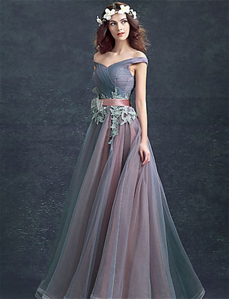 dress design for js prom formal evening dress ball gown off the shoulder floor