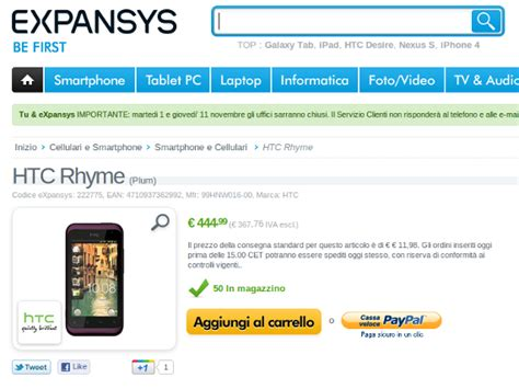 htc rhyme themes free download htc rhyme disponibile su expansys a 444 99 euro video e
