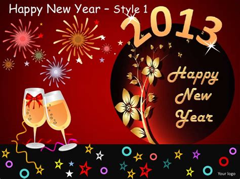 template powerpoint happy new year happy new year celebration style 1 powerpoint templates