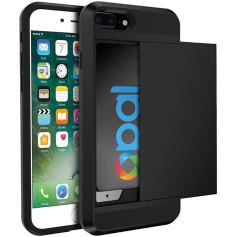 Gadgetpluss Hardcase Armor Prisma tough armour card holder apple iphone 7 plus black