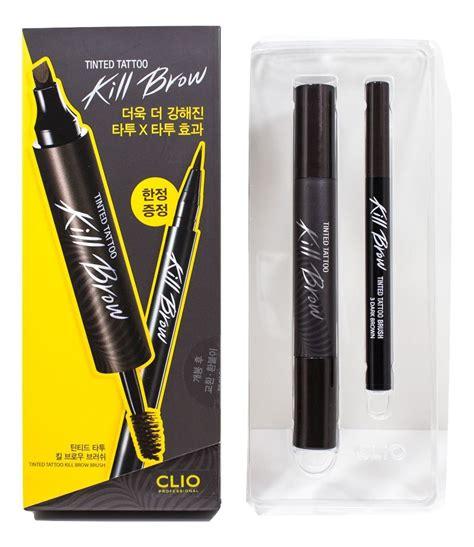 Gc Tinted Kill Brow Eyebrow Spidol Mascara clio tinted kill brow earth brown 1