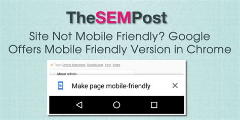 not mobile site site not mobile friendly offers mobile friendly