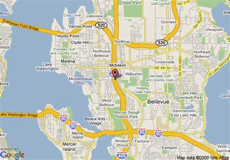 america map seattle map of extended stay america seattle bellevue bellevue