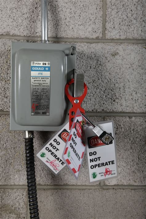 lock out tag out procedures safety pinterest safety