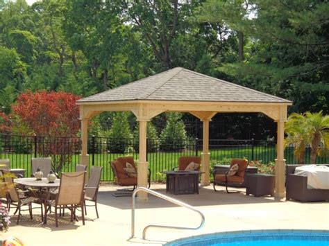 Backyard Pavilions by 32 Fabulous Backyard Pavilion Ideas