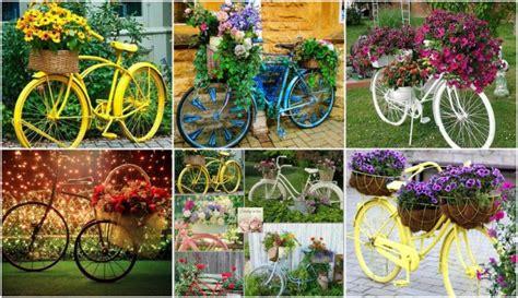 kreative gartenideen deko kreative gartenideen deko aus altem fahrrad