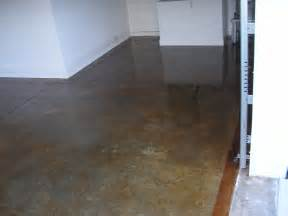 stained concrete floor house ideas