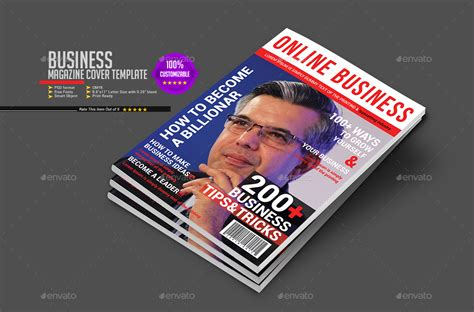 business magazine template business magazine cover template by amit89 graphicriver