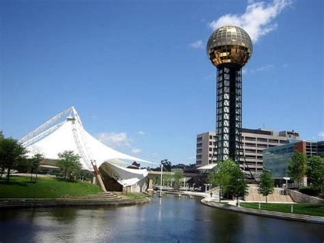marks and knoxville tn an outdoor theater foto di sunsphere tower knoxville