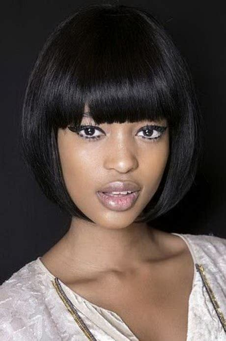 Black Hairstyles With Bangs For by Black Hairstyles With Bangs