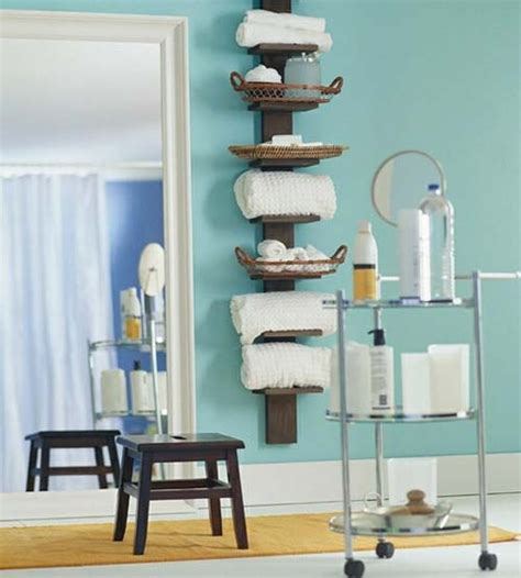 Storage For Bathroom Towels 73 Practical Bathroom Storage Ideas Digsdigs