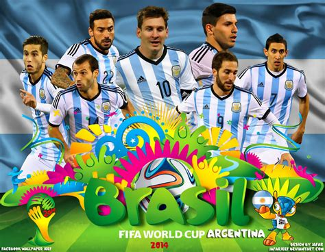 Argentina World Cup 2014 by Argentina World Cup 2014 Wallpaper By Jafarjeef On Deviantart