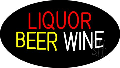 liquor signs liquor beer wine animated neon sign liquor neon signs