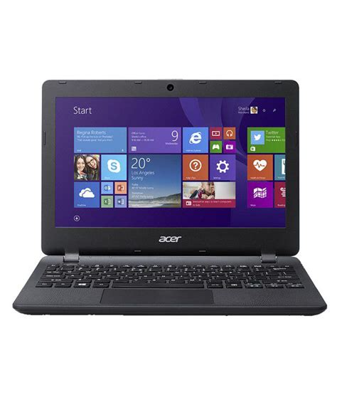 Laptop Acer Es 11 acer aspire es 11 es1 131 c8rl notebook nx myksi 009 intel celeron 2gb ram 500 gb hdd 29 5