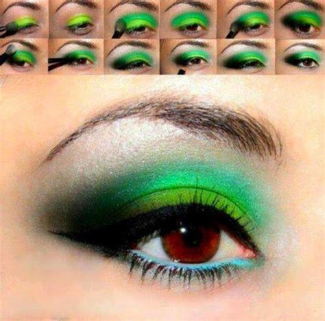 eyeliner tutorial for green eyes 13 amazing step by step eye makeup tutorials to try