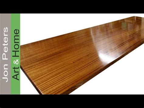 Finishes For Wood Countertops by How To Finish A Wooden Countertop By Jon Peters