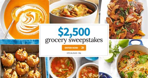 Bhg Daily Sweepstakes - bhg 2 500 grocery sweepstakes bhg com grocerysweeps