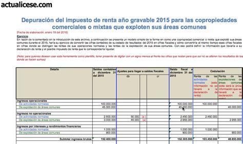 cartilla declaracion renta personas juridicas 2016 formulario renta personas juridicas 2015 formulario renta