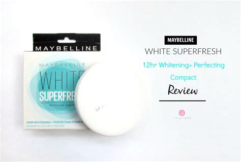 Maybelline White Fresh Liquid maybelline white superfresh 12hr whitening perfecting compact review swatch price cherry on